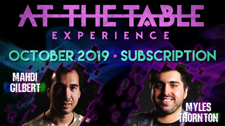 At The Table October 2019 Subscription